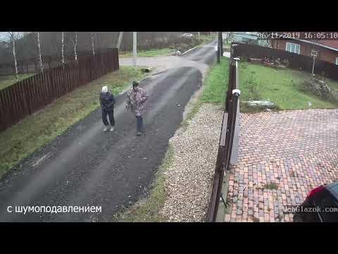 Шумоподавление на камере видеонаблюдения