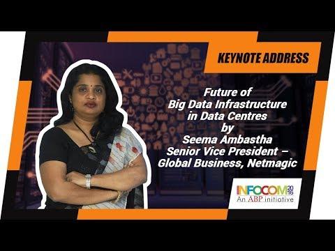 Seema Ambastha, Senior Vice President – Global Business, Netmagic at INFOCOM Calcutta 2016