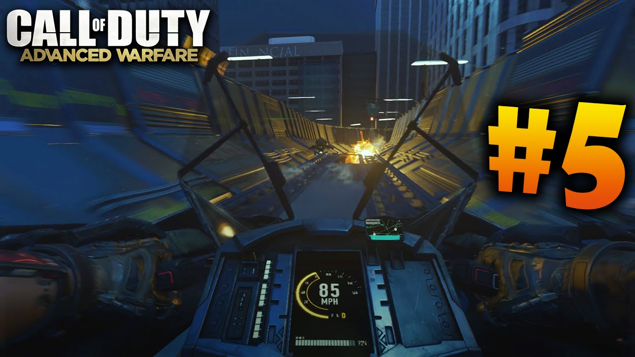 Call of Duty: ADVANCED WARFARE Let's Play (Parte 5) - Campaña Mision 5
