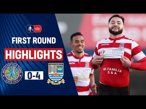 Non-League Kingstonian Dominate Macclesfield! | Macclesfield 0-4 Kingstonian | Emirates FA Cup 19/20
