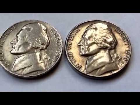 1970 D and S Jefferson Nickel Rare and Expensive US Coins Collection Value Numismatic Centavo Coins