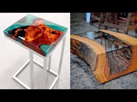epoxy resin wood projects epoxy table river table #103