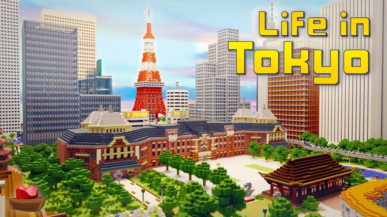 Life In Tokyo In Minecraft Marketplace Minecraft