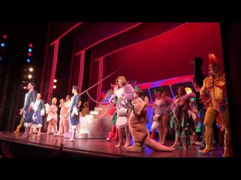 Curtain call, closing show, Priscilla Queen of the Desert Broadway