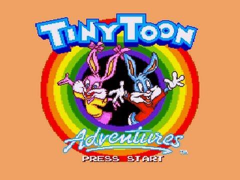 Стрим Tiny Toon Adventures - Busters Hidden Treasure (SEGA) Прохождение