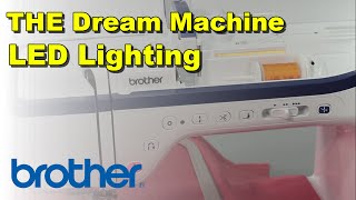 Thread Color LED Lighting | The Dream Machine by Brother | Innov-is XV8500D