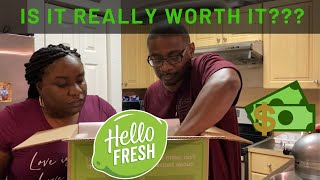 Cooking With Me | Hello Fresh Unboxing 2020 | Cooking and Honest Review!