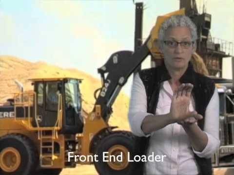 Working Trucks - ASL signs