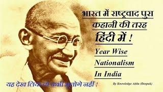 Nationalism in India 2017 I राष्ट्रवाद  हिंदी में  I कक्षा 10 भारत में राष्ट्रवाद
