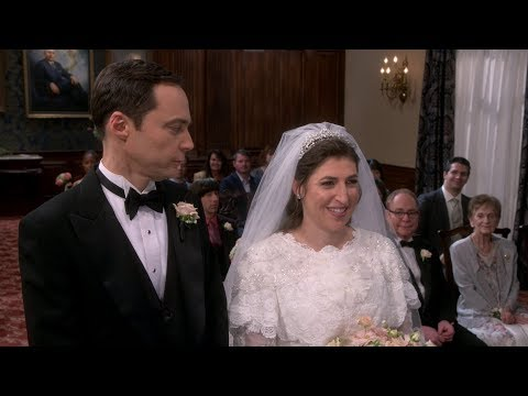 The Big Bang Theory – Sheldon & Amy Wedding Part 1
