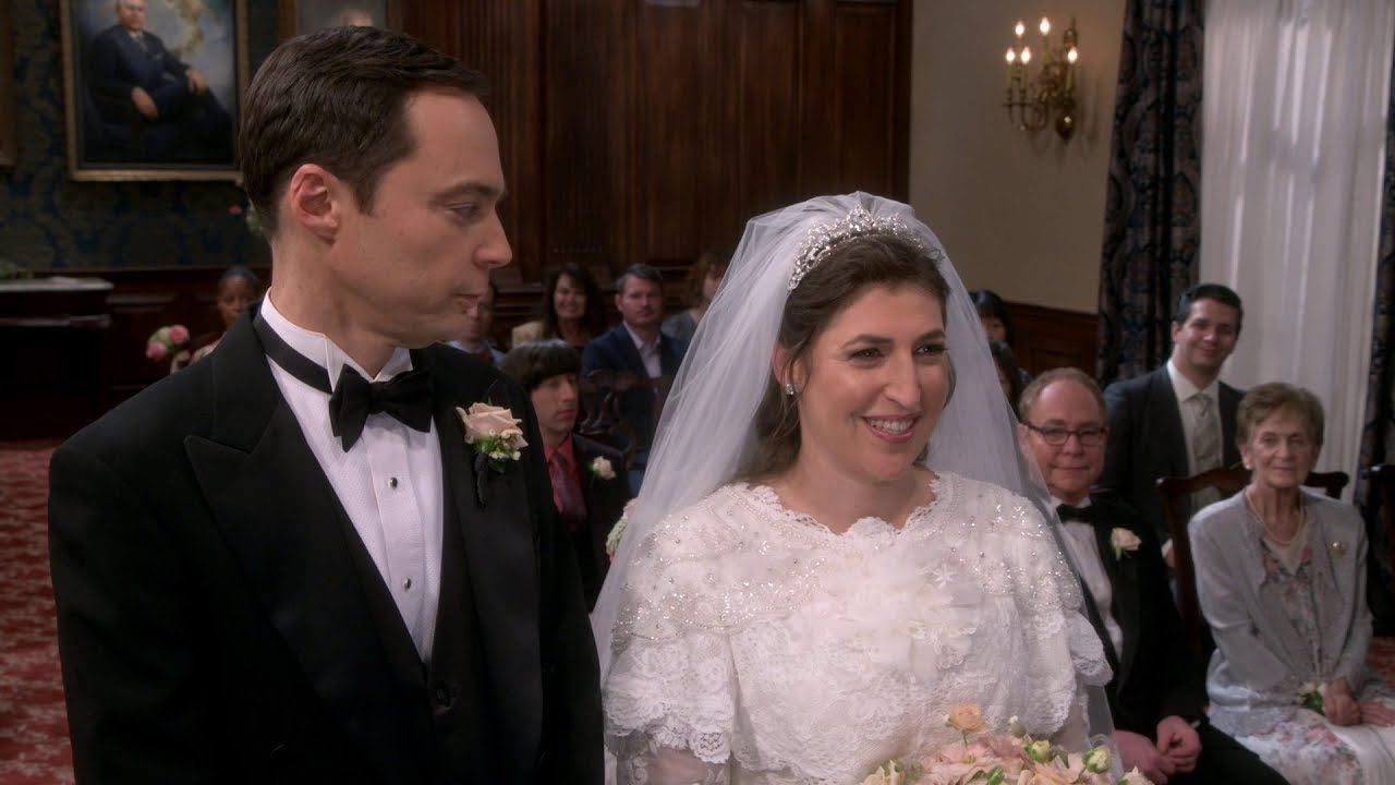 Sheldon And Amy Wedding.The Big Bang Theory Sheldon Amy Wedding Part 1