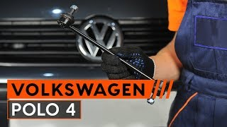 Montaż Drążek skrętny tylne i przednie VW POLO (9N_): darmowe wideo