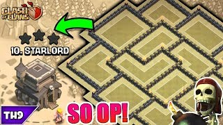 BEST TOWN HALL 9 WAR/TROPHY BASE 2017! NEW TH9 ANTI 3 STAR BASE WITH REPLAYS!! - CLASH OF CLANS(COC)