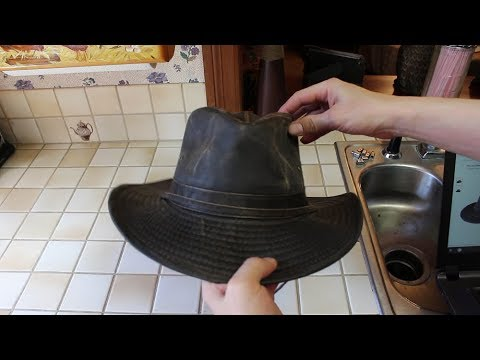 d9624fb2f12 Dorfman-Pacific Weathered Cotton Outback Hat Review - YouTube