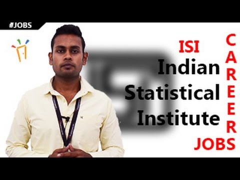 ISI U2013 Indian Statistical Institute Recruitment Notification,Openings,Exam  Dates U0026 Results   YouTube