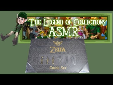 Unboxing USAopoly The Legend Of Zelda Chess Set | The Legend Of Collections! ASMR