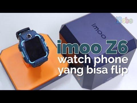imoo Z6 - Review dan Giveaway imoo Watch Phone Terbaru yang Bisa Flip
