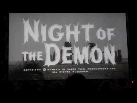 Peggy Cummins introduces Night of the Demon (August 2013)