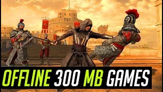 Top 10 OFFLINE Games for Android/iOS Under 300MB 2018 Awesom Collection