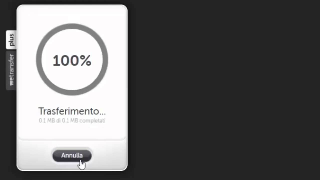 SCARICARE CON WETRANSFER SU IPHONE