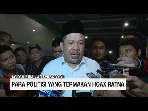Para Politisi yang Termakan Dusta Hoax Ratna Sarumpaet