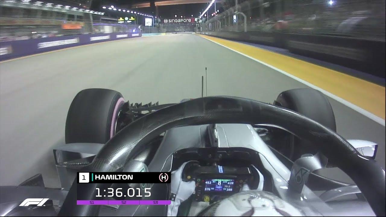 Lewis Hamilton's Stunning Pole Lap | 2018 Singapore Grand Prix