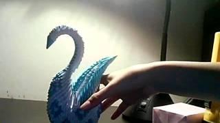 3d Origami Swan~~thx To Jewellia7777~~