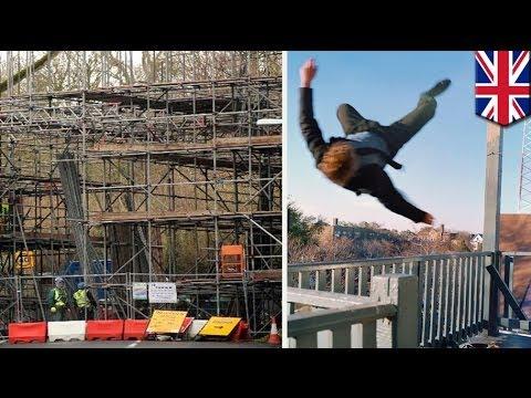 Skywalking accident: man falls off Shepton Mallet viaduct while taking selfie