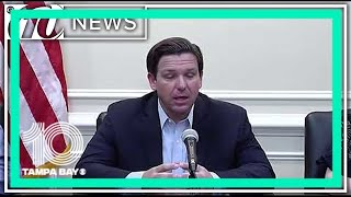 Florida Gov. Ron DeSantis provides COVID-19 update
