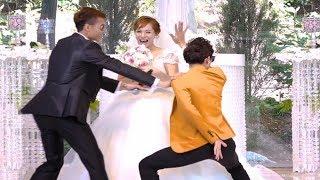 Cười Đau Bụng khi MC định hấp diêm cô dâu ngay trước mặt chú rể