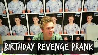 BIRTHDAY REVENGE PRANK ON ROOMMATE