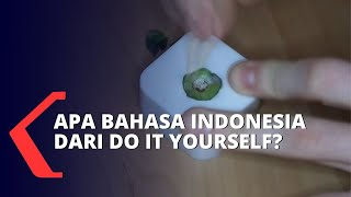 Ini Lho Arti Do It Yourself Dalam Bahasa Indonesia Youtube