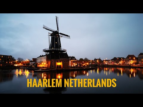 Haarlem Netherlands - 4K (UDHD) Travel Guide
