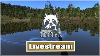 Russian Fishing 4: Karpfen angeln an der Alten Festung | Livestream Deutsch