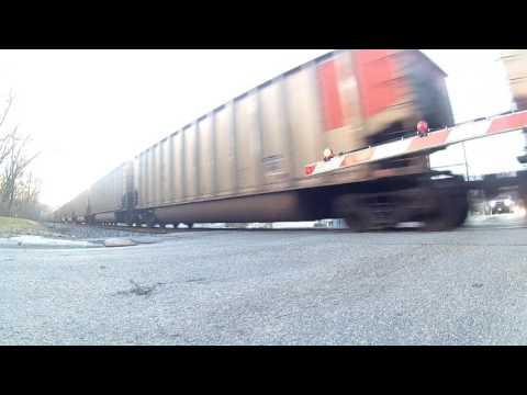 Coal train in Vandalia Illinois