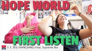 [j-hope] HOPE WORLD MIXTAPE REACTION!!!