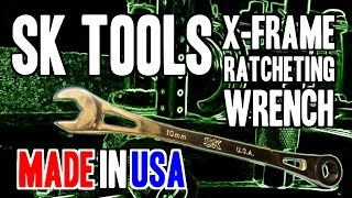 Sk Tools X-frame Ratcheting Wrench - Made In Usa