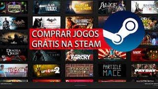 como comprar jogos da steam gratis