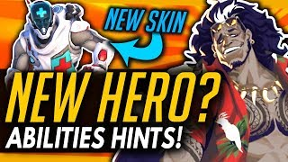 Overwatch   Hero 31 TEASED? - MAUGA Potentially Main Tank Abilities + Story!