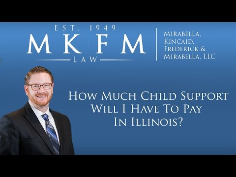 New 2017 Child Support Law: How Much Child Support Will I Have to Pay In Illinois?