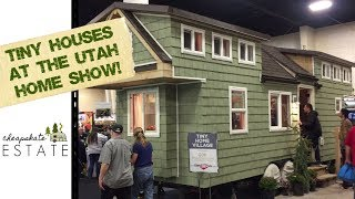 Tiny House Interiors From The Utah Home Show!