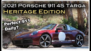 homepage tile video photo for The Porsche 992 Targa Heritage Edition Shows the Breadth of the 911's Abilities - One Take