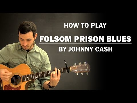 Folsom Prison Blues Johnny Cash  How To Play  Beginner Guitar Lesson