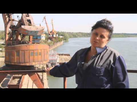 Страна труда. Машинист портального крана АО «Павлодарский речной порт»