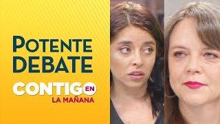 Bessy Gallardo enfrentó a Ena Von Baer por Derechos Humanos en Crisis de Chile