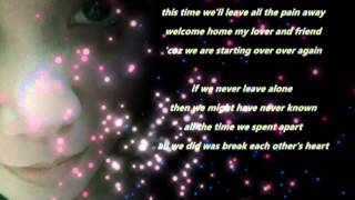 Starting Over Again (LYRICS) by:Sheryn Regis