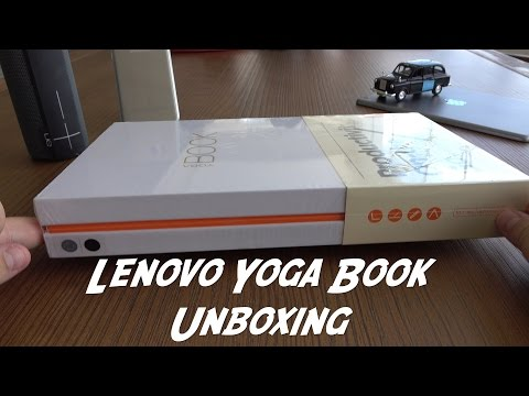 Lenovo yoga Book Unboxing