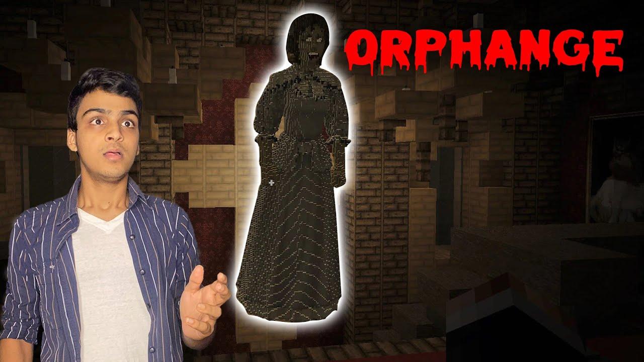 ORPHANAGE Horror Minecraft Map | TELUGU DOST LIVE
