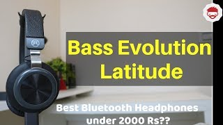 Geekcases Bass Evolution Latitude Wireless Headphones Review & Unboxing | Hindi