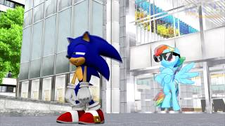 Sonic Goes To IDW - Episode 2 (Ft. Rainbow Dash)